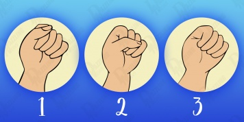 What the fist reveals about every individual's personality!