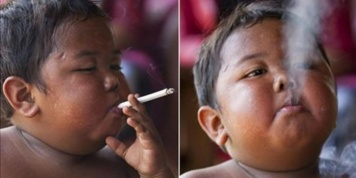 Do you know the boy that smoked 40 cigarettes a day? He has changed a lot over the last 8 years…